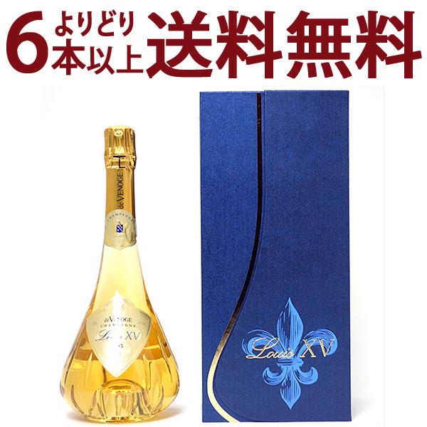 [1995] ルイ キャーンズ (ルイ15世) ブリュット 750ml(ド ヴノージュ)(ドゥ ヴノージュ) 箱付 (シャンパーニュ)白泡【シャンパン コク辛口】【ワイン】^VAVG7195^
