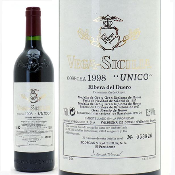 【送料無料】[1998] ウニコ 750ml(ベガ シシリア)リベラ デル デゥエロ赤ワイン【コク辛口】【ワイン】^HDVSUC98^