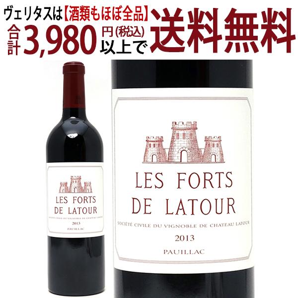 [2013] レ フォール ド ラトゥール 750ml(ポイヤック ボルドー フランス)赤ワイン コク辛口 ワイン ^ABLA2113^