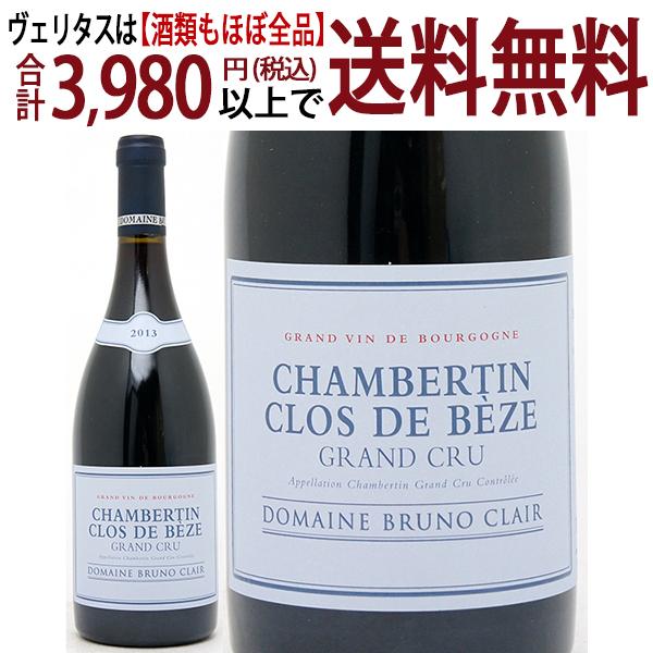 [2013] シャンベルタン クロ ド ベーズ 特級畑 750mlブリュノ クレール (ブルゴーニュ フランス)赤ワイン コク辛口 ワイン ^B0BCCB13^