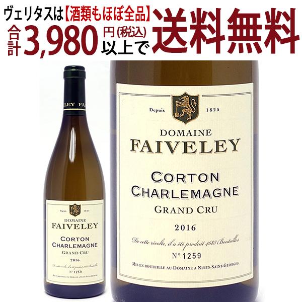 [2016] コルトン シャルルマーニュ 特級畑 750mlドメーヌ フェヴレ (ブルゴーニュ フランス)白ワイン コク辛口 ワイン ^B0IVCC16^