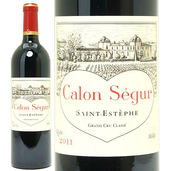 [3240] アウトレット 2011 シャトー カロン セギュール ラベル破れ、汚れ 750mlサンテステフ第3級赤ワイン コク辛口 ワイン ^AACS01AG^