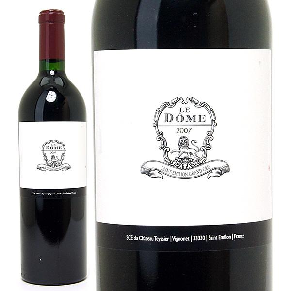 [3299] アウトレット 2007 ル ドーム ラベル汚れ、ビン傷(小) 750ml サンテミリオン特級赤ワイン コク辛口 ワイン ^AKOM01AE^