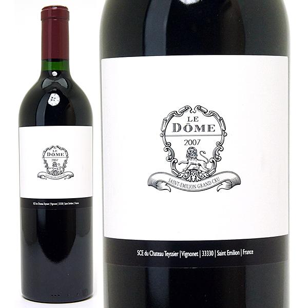 [3302] アウトレット 2007 ル ドーム コルク浮き(小)、ラベル汚れ、ビン傷 750ml サンテミリオン特級赤ワイン コク辛口 ワイン ^AKOM01AH^