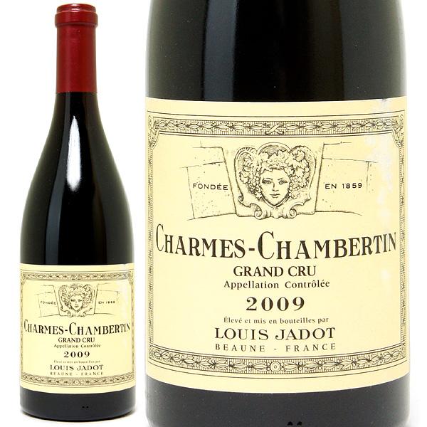 [3372] アウトレット 2009 シャルム シャンベルタン 特級畑 ラベル破れ、擦れ 750ml ルイ ジャド赤ワイン コク辛口 ワイン ^B0JLCMAA^