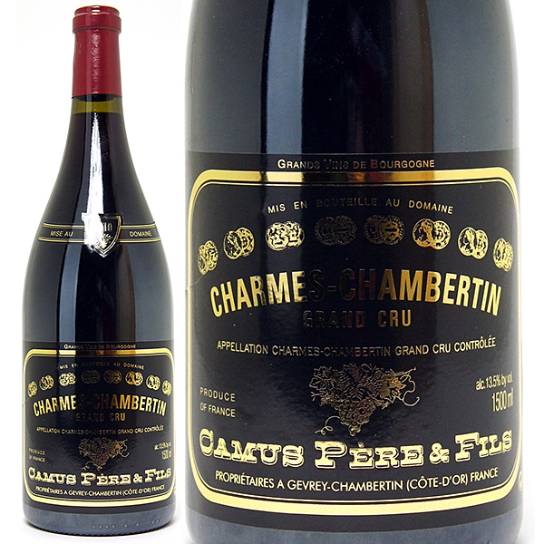 [3382] アウトレット 2010 シャルム シャンベルタン 特級畑 マグナム ラベルしわ(小) 1500ml カミュ ペール エ フィス赤ワイン コク辛口 ワイン ^B0CUMCAC^