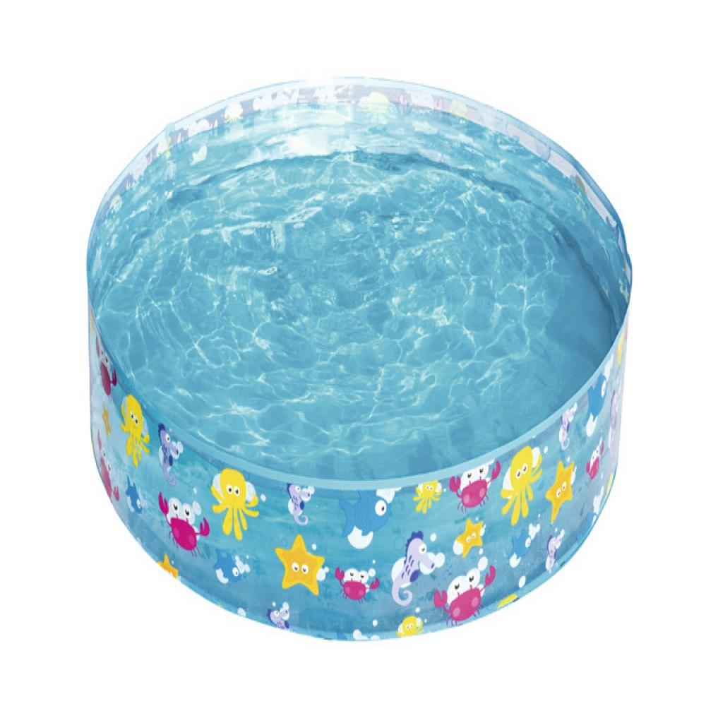 折り畳み保管でき 裏庭やビーチで水遊びを楽しめる VeroMan 子供用 プール 広げて水を入れるだけ 代引き不可 水遊び 引出物 簡単設置 直径122cm × 庭 高さ25cm