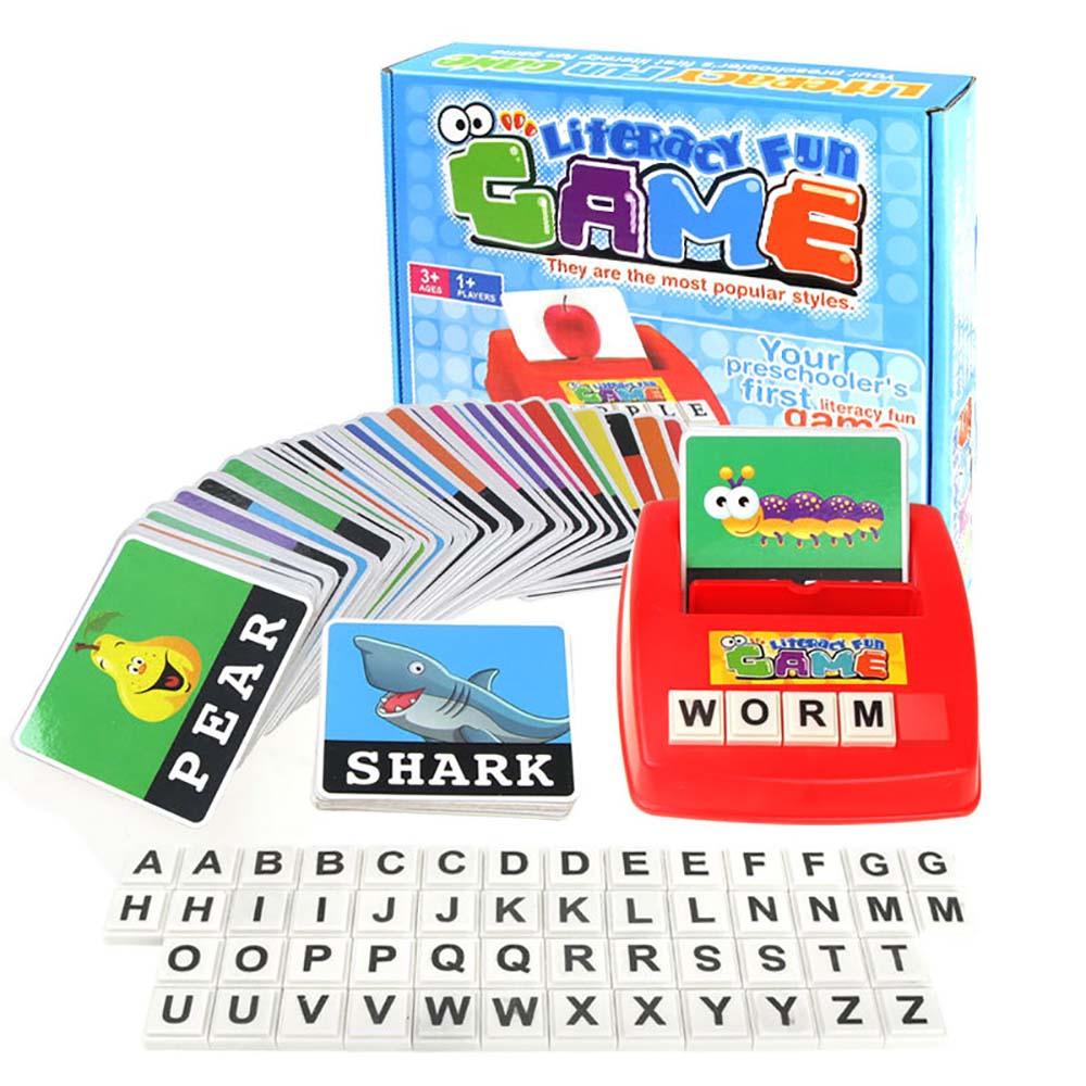 ガームをやって 英単語のスペルを楽しく習得 価格交渉OK送料無料 VeroMan 子供用 幼児 英単語 120 カード 60枚 英単語120個 スペル アルファベット 知育玩具 学習ゲーム カード60枚 A-Z 教育教材 即出荷