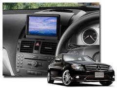 純正モニターの映像を後部座席などへ増設したモニターに映せます。ミラーリング 純正TV/DVD/NAVI画面など RM-BENZ/S リアモニター出力用インターフェイス W204 W212 C207 W221 X204 GLK ミラーリング AVインターフェイス ベンツ