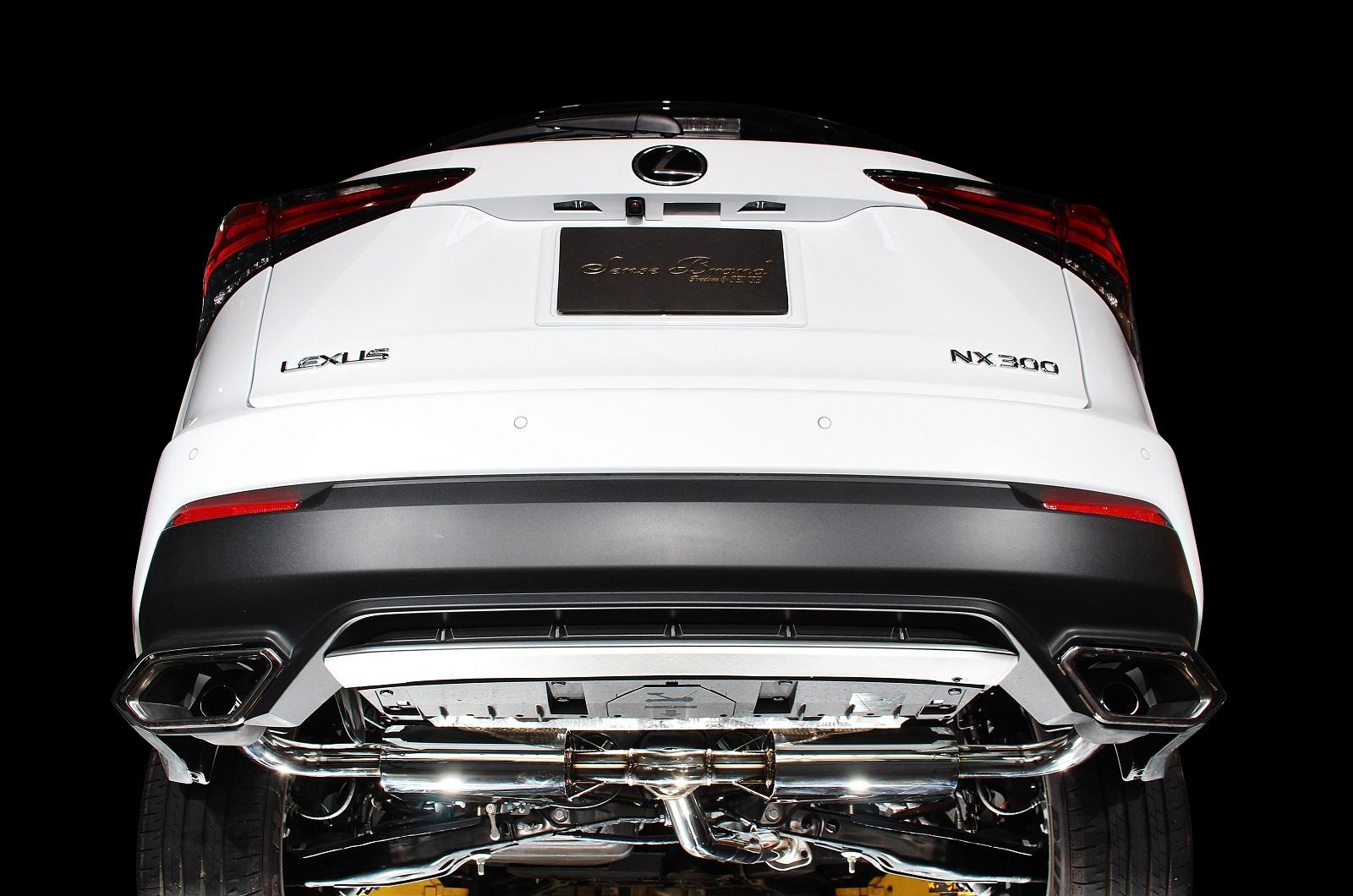 センスブランド 車検対応 マフラー AGZ10 NX300 ターボ 重静音スペック レムエキゾースト