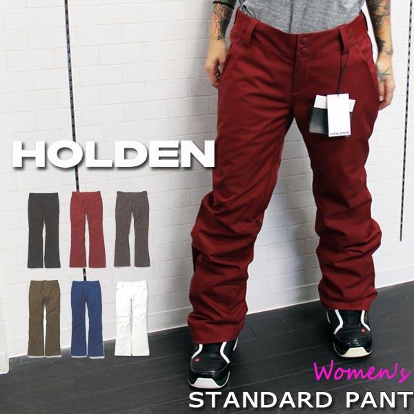 ポイントアップセール開催中 スノーボード ウエア ウェアー 19-20 HOLDEN ホールデン STANDARD PANT スタンダードパンツ レディス レギュラー スタイリッシュ 19-20-PT-HDN あす楽