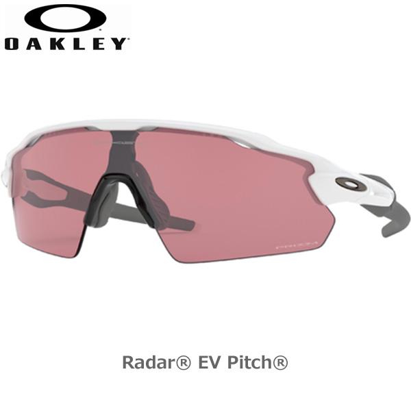 オークリー サングラス レイダーイーブイパス スポーツ OAKLEY RADAR EV PITCH フレーム Polished White レンズ Prizm Dark Golf oky-sun