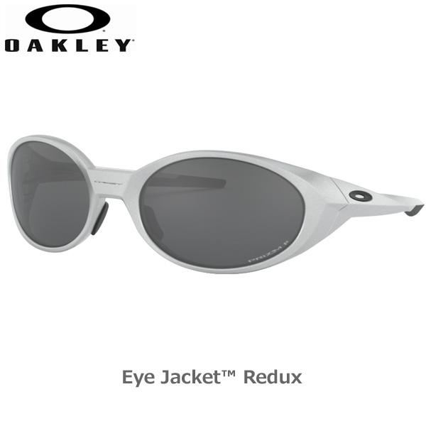 オークリー 偏光 サングラス アイジャケット リダックス スポーツ OAKLEY EYEJACKET REDUX フレーム Silver レンズ Prizm Black Polarized あす楽