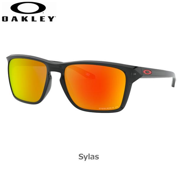 オークリー 偏光 サングラス サイラス カジュアル OAKLEY SYLAS フレーム Black Ink レンズ Prizm Ruby Polarized oky-sun