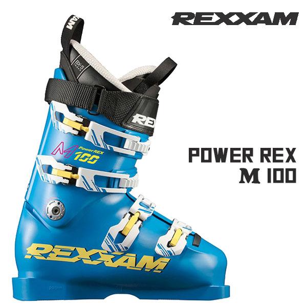 スキー ブーツ 靴 18-19 REXXAM レグザム PR- M100 パワーレックス ハイエンド コンペ お買い得