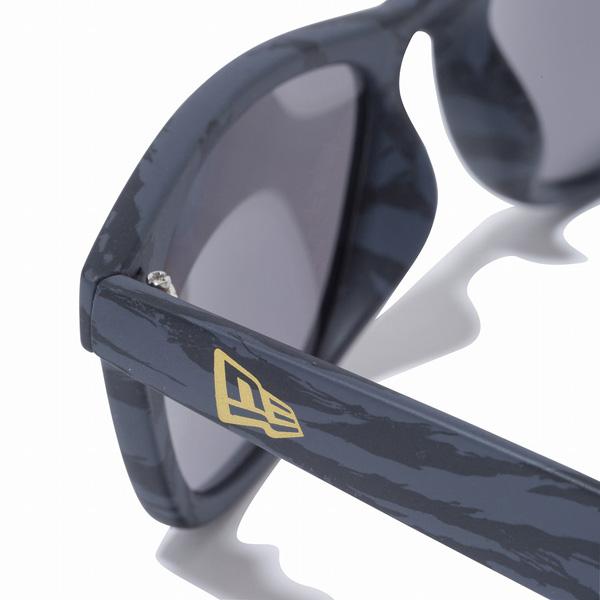 サングラス ニューエラ NEW ERA SUNGLASSES SQ フレーム タイガーストラップカモグレー レンズ グレーミラー4AjRL35q