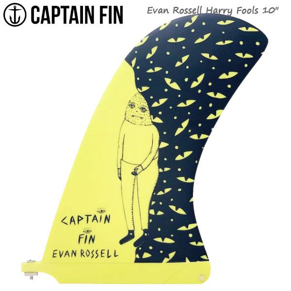 CAPTAIN FIN キャプテンフィン EVAN ROSSELL HARRY FOOLS 10 YELLOW シングルフィン