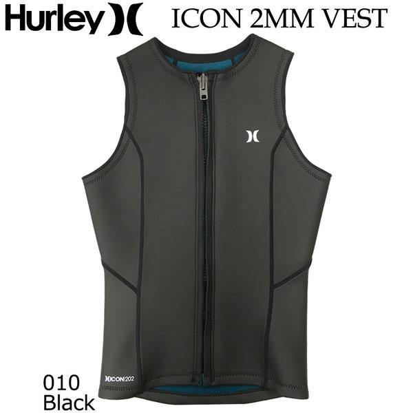 正規品 日本規格 ウェットスーツ ベスト 21 HURLEY ハーレー ICON 2MM VEST