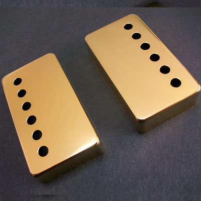 Retrovibe Parts Inch size Nickel Silver cover set Gold (2) 1422