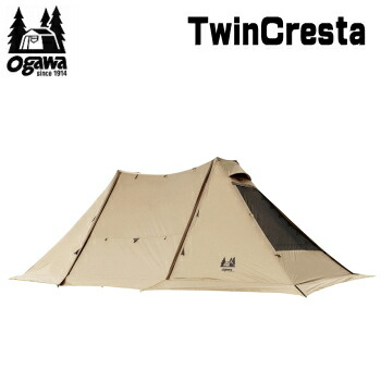 ogawa オガワ テント キャンパル CAMPAL JAPAN テント ツインクレスタ 3347 シェルター 送料無料