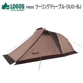 新作通販 送料無料 テント 国内在庫 2人用テント アウトドアテント キャンプテント ツーリングテント アウトドア キャンプ 71805556 LOGOS 2人用 ツーリングドゥーブル ロゴス Tradcanvas DUO-BJ