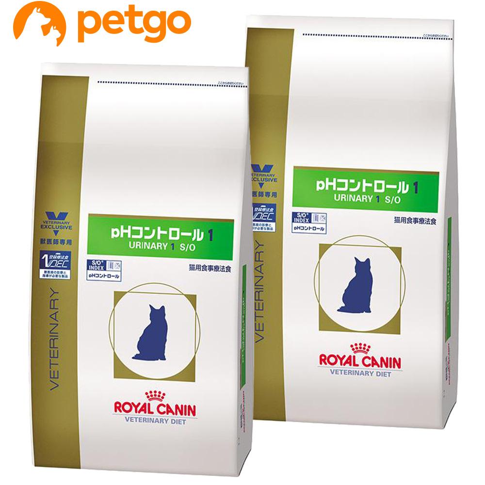 【2袋セット】ロイヤルカナン 食事療法食 猫用 pHコントロール1 ドライ 4kg【あす楽】