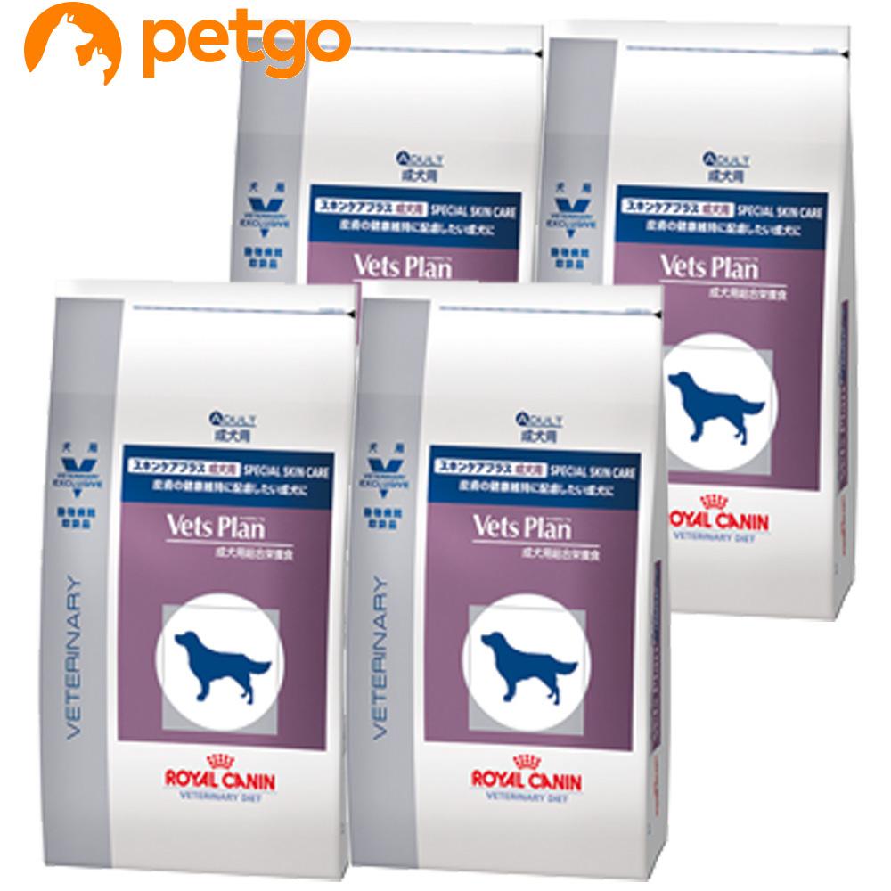 【エントリーでP3倍】ロイヤルカナン ベッツプラン 犬用 スキンケアプラス 成犬用 3kg×4袋【ケース販売】【あす楽】