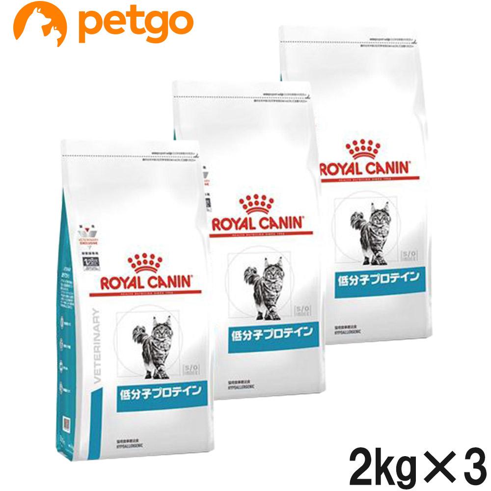 【3袋セット】ロイヤルカナン 食事療法食 猫用 低分子プロテイン ドライ 2kg【あす楽】