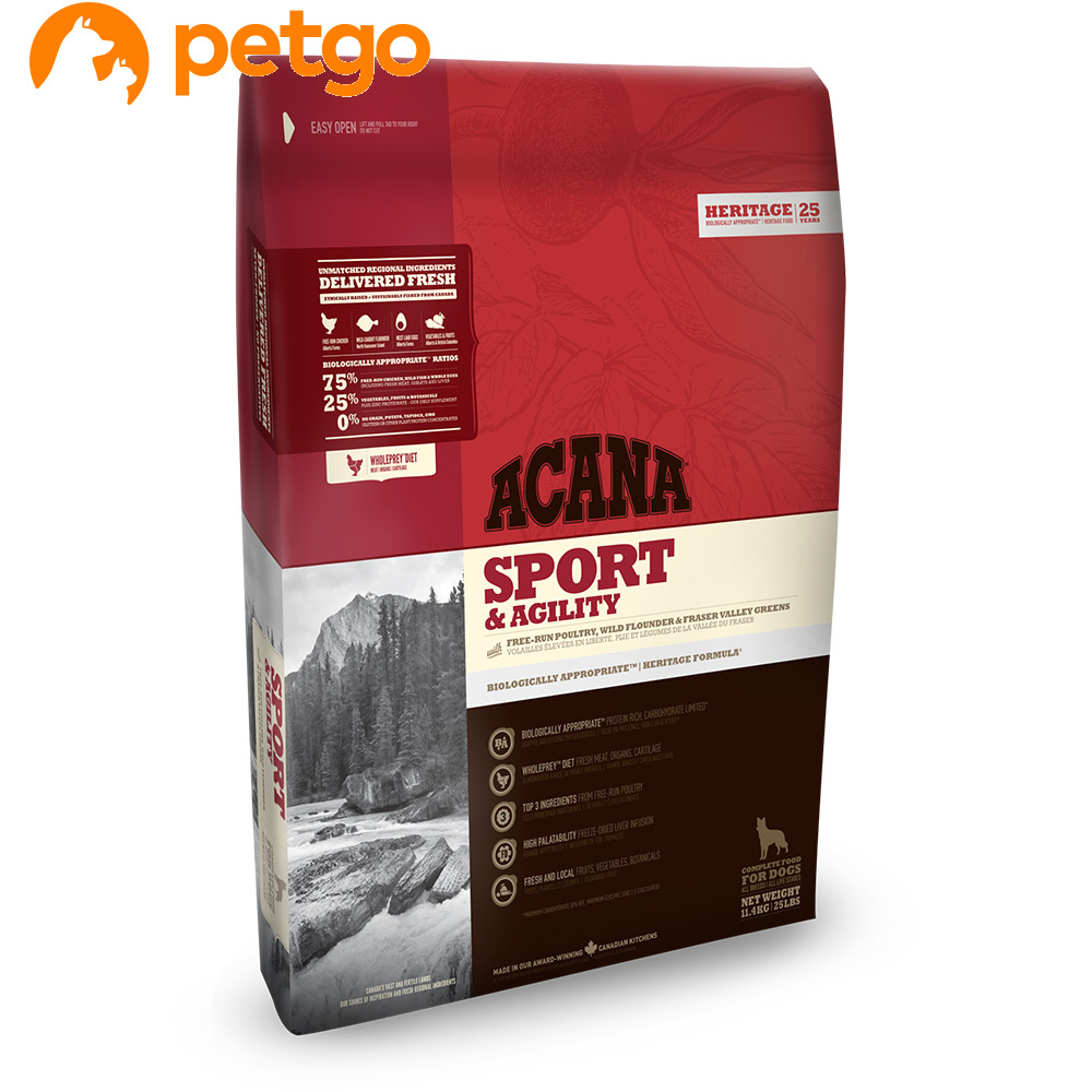ACANA(アカナ) スポーツ&アジリティ 11.4kg