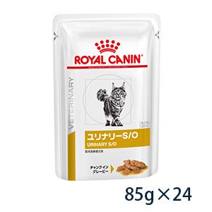 ※賞味期限:2023 04 02以降 08月現在 ギフ_包装 安全 ロイヤルカナン 猫用 ウェット 旧pHコントロール ユリナリーS O 85gパウチ×24 パウチ