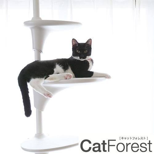 【OPPO (オッポ) 】Cat Forest キャット フォレスト キャットタワー ホワイト 猫 ペット