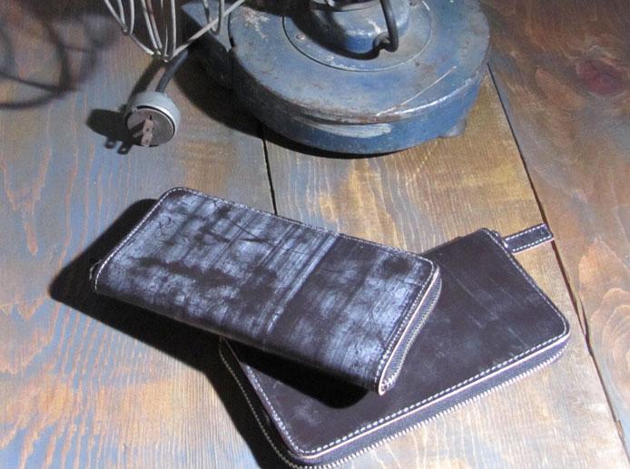 ロングウォレット 日本製 長財布 ラウンドファスナー メンズ ウォレット JYO ARVINISTA -BRIDLE collection- イギリス製ブライドルレザー(牛革) かっこいい 大容量 ブランド 男性用 プレゼント