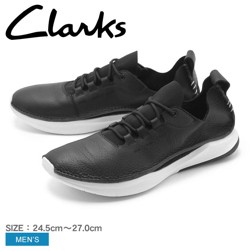 クラークス スニーカー CLARKS メンズ レザー 天然皮革 プリボルーション ロー PRIVOLUTION LO 26130306 高級 紳士靴 ブランド 軽い 軽量 カジュアル スポーティ 黒 白 本革
