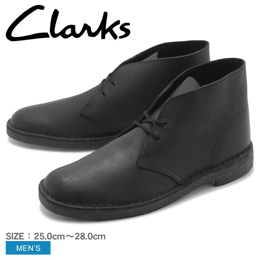 【最大500円引きクーポン】送料無料 CLARKS クラークス デザートブーツ ブラックデザートブーツ DESERT BOOT26138226 メンズ