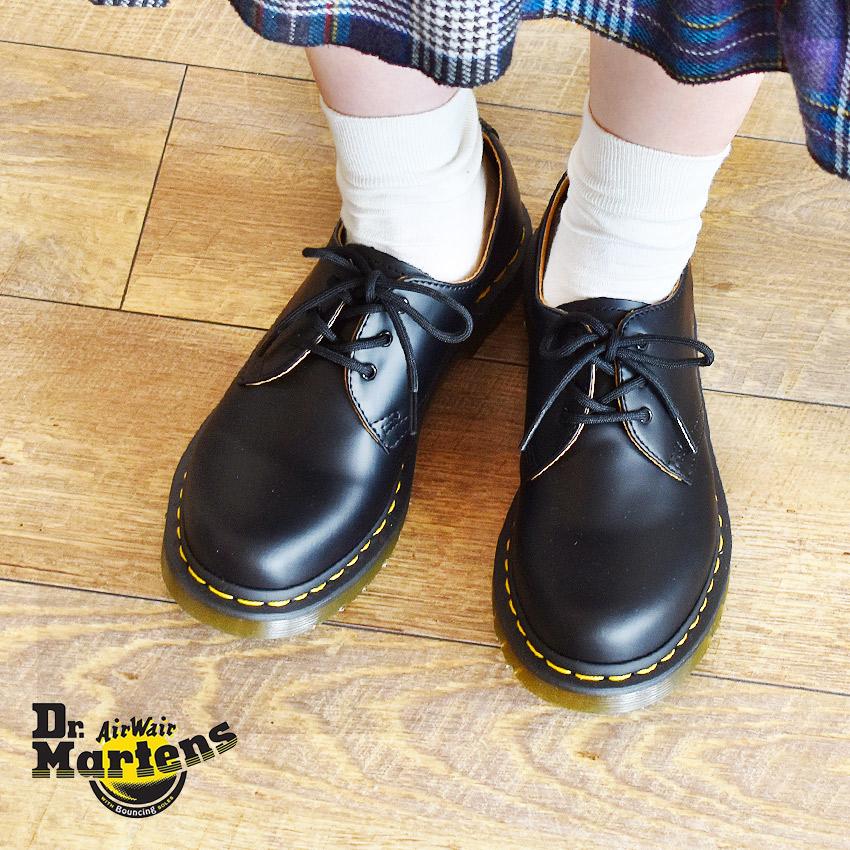 【最大500円引きクーポン】【Dr.Martens】ドクターマーチン 3ホール ギブソン レディース 3HOLE GIBSON 1461 W 靴 シューズ レザー 短靴