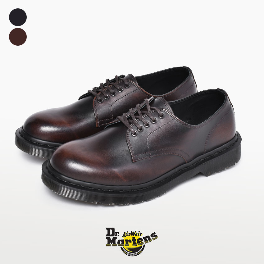 DR.MARTENS ドクターマーチン メンズ マーチン イギリス製 VARLEY 5ホール 靴 イングランド ブランド 革靴 シューズ レザー カジュアル フォーマル おしゃれ 黒 ブラウン 茶 短靴 紳士靴 プレーントゥ