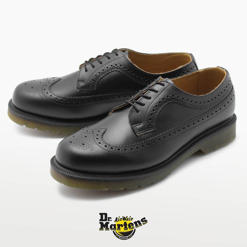 【Dr.Martens】 ドクターマーチン 3989 ブローグシューズ ブラック 定番 人気 ユニセックス メンズ レディース 3989 BROGUE SHOE 24340001 レザー 革靴