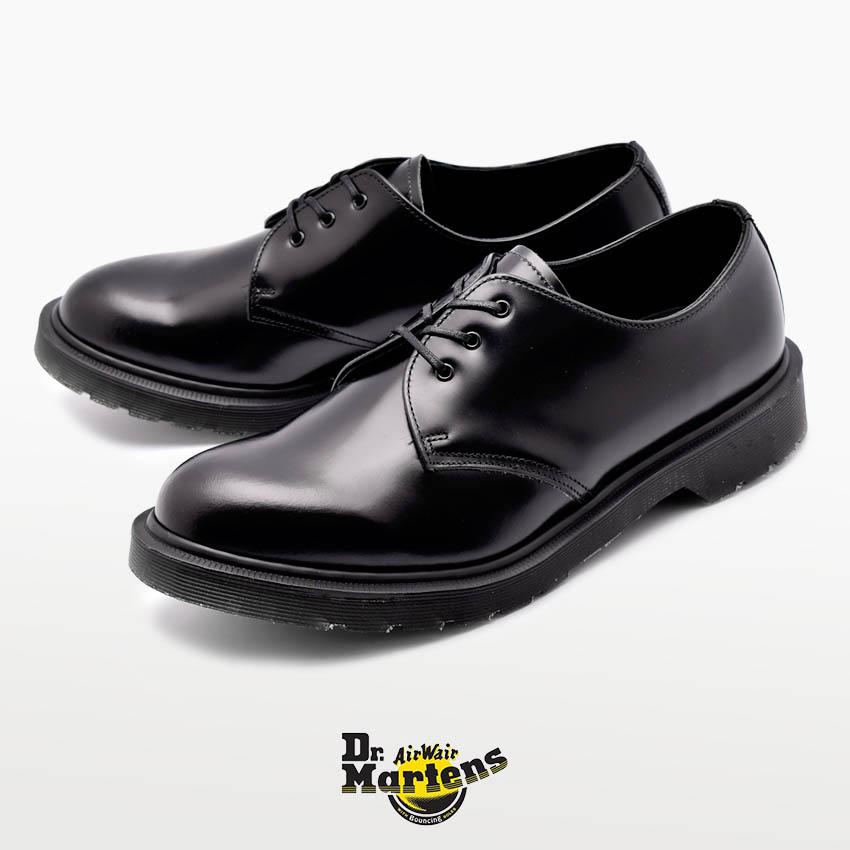 【最大500円引きクーポン】送料無料 DR.MARTENS ドクターマーチン 革靴 ブラック1461 MIE クラシック 3ホール シューズ 1461 MIE CLASSICS 3EYE SHOE16074001 ドレスシューズ メンズ