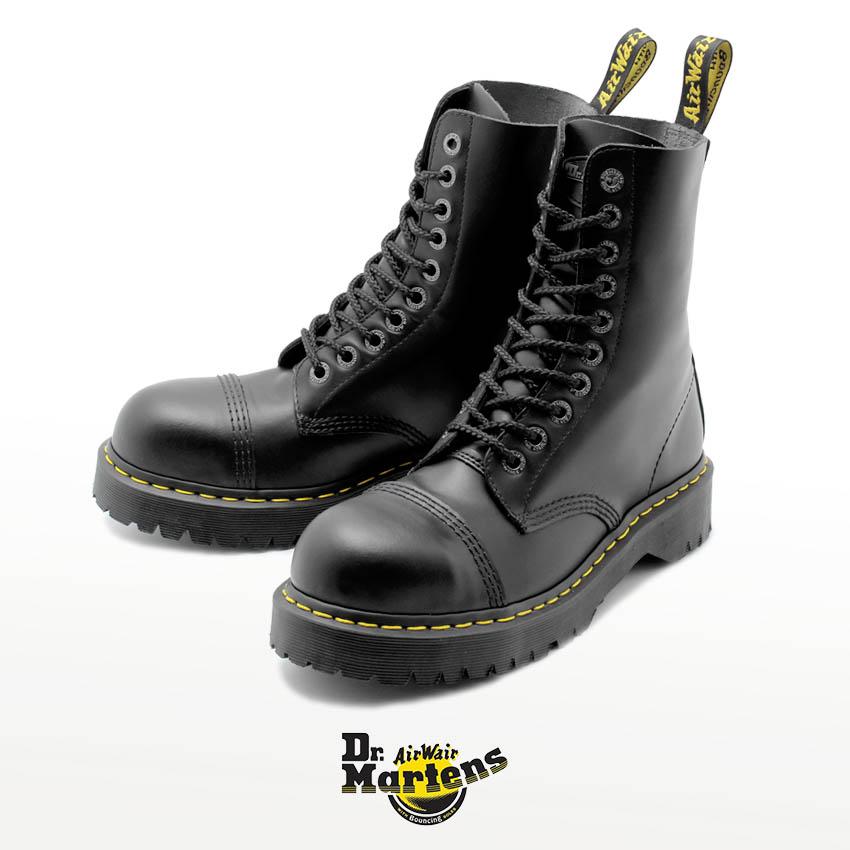【ドクターマーチン】Dr.Martens ブーツ ブラック 8761 BXB 10ホール 8761 BXB 10EYE BOOT 10966001 メンズ レディース
