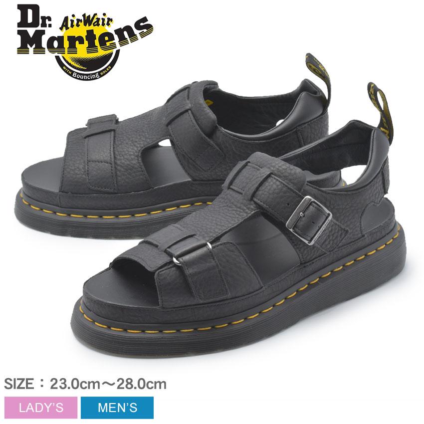 【Dr.Martens】 ドクターマーチン サンダル ブラック ヘイデン HAYDEN 24625001 メンズ レディース 靴 シューズ 革靴 本革 レザー ブランド カジュアル 定番 ベルト フィッシャーマン 黒 バックストラップ