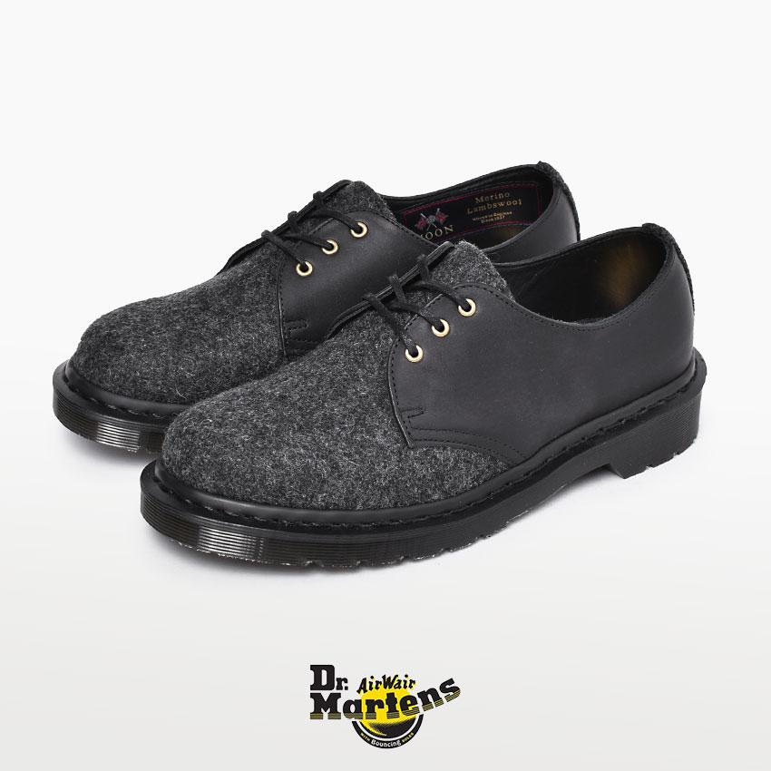 DR.MARTENS ドクターマーチン メンズ 1461 マーチン 英国 イギリス製 3ホール シューズ 紳士靴 革靴 フォーマル レザー ブランド 天然皮革 革 本革 おしゃれ メルトンウール フルグレインレザー