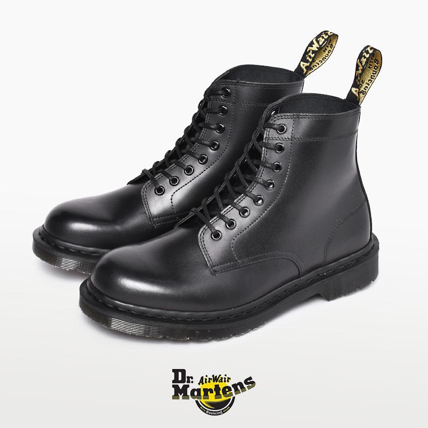 DR.MARTENS ドクターマーチン メンズ マーチン イギリス製 RIXON 8ホール ブーツ 25304001 イングランド 英国 靴 ブランド 天然皮革 革 本革 レザー カジュアル ワークブーツ おしゃれ 黒