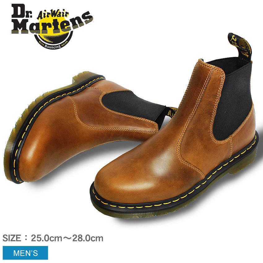 【最大500円引きクーポン】送料無料 ドクターマーチン ブーツ Dr.Martens HARDY チェルシーブーツ ビタースコッチ22827243 HARDY CHELSEA BOOTS BITTER SCOTCH靴 シューズ サイドゴア オーリアンズレザー メンズ