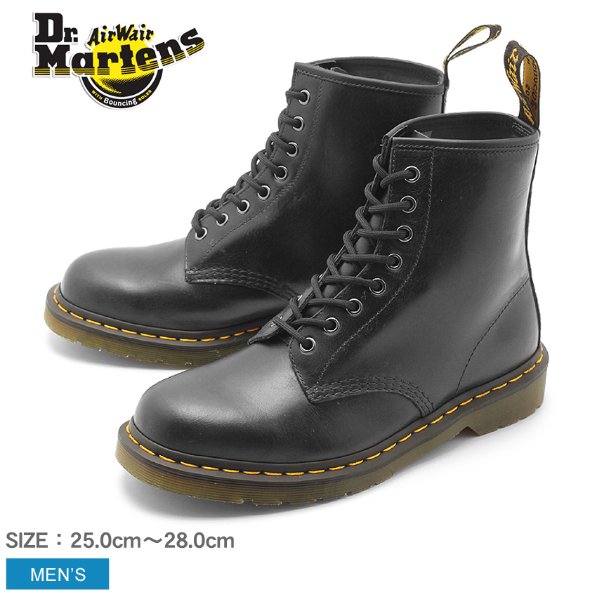 【最大500円引きクーポン】【ドクターマーチン】 1460 8ホール ブーツ ブラック DR.MARTENS 1460 8EYE BOOT R22828029 メンズ 送料無料