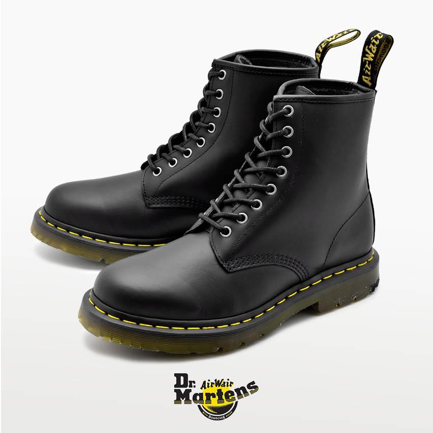 【DR.MARTENS】 ドクターマーチン ブーツ ブラック 1460 8 EYE BOOT 1460 8ホール ブーツ R24039001 メンズ 靴 シューズ マーチン ブランド 革 レザー カジュアル 防水 防滑 滑らない 防汚 汚れにくい ウィンターブーツ 人気 定番 黒