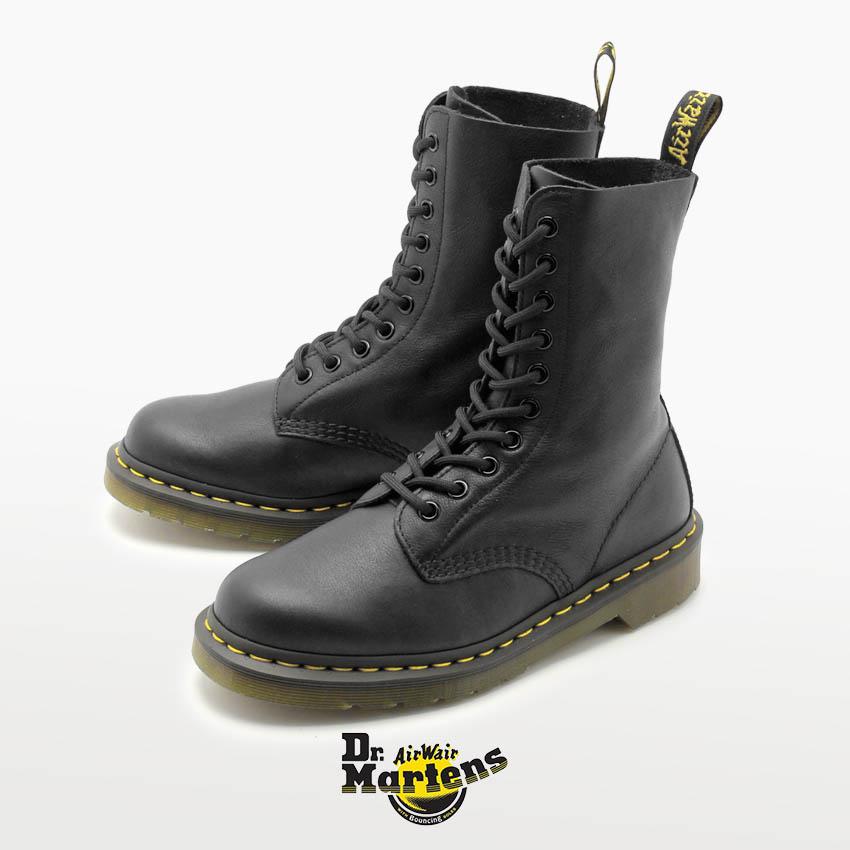 送料無料 長時間履いても疲れにくいブーツです 超特価SALE開催 卓抜 ドクターマーチン ブーツ DR.MARTENS ブラック BOOT R22524001 10EYE 1490W 10ホール レディース
