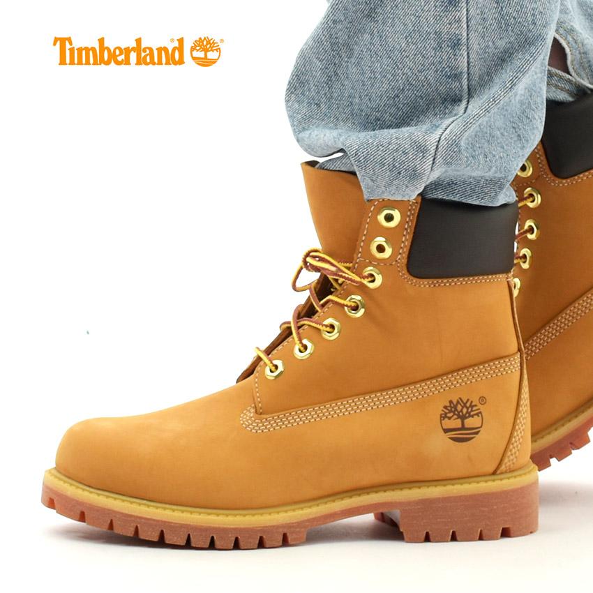 ティンバーランド ブーツ 6インチ プレミアムブーツ ウィートヌバック (TIMBERLAND 10061 6inch PREMIUM WATER PROOF BOOT) メンズ MEN アウトドア メンズ ブーツ 靴