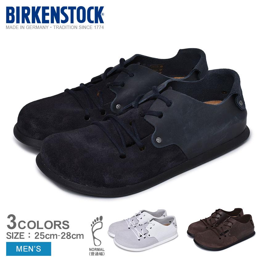 【BIRKENSTOCK】 ビルケンシュトック コンフォートシューズ モンタナ MONTANA 普通幅 1013302 1013306 1013304 メンズ スニーカー 靴 シューズ ブルー ホワイト ブラウン 青 白 スエード レザー コンフォートサンダル おしゃれ カジュアル シンプル