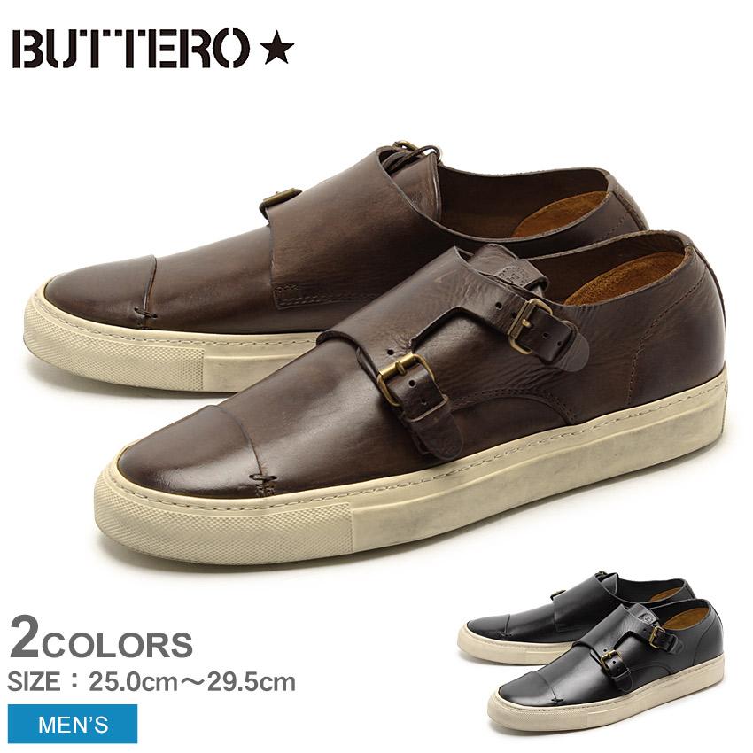 【最大500円引きクーポン】送料無料 ブッテロ BUTTERO タニーノ TANINO B5310 全2色 レザー ローカット スニーカー シューズ MADE IN ITALY (BUTTERO B5310 UTHGB PE-TOSCH)メンズ MEN 短靴