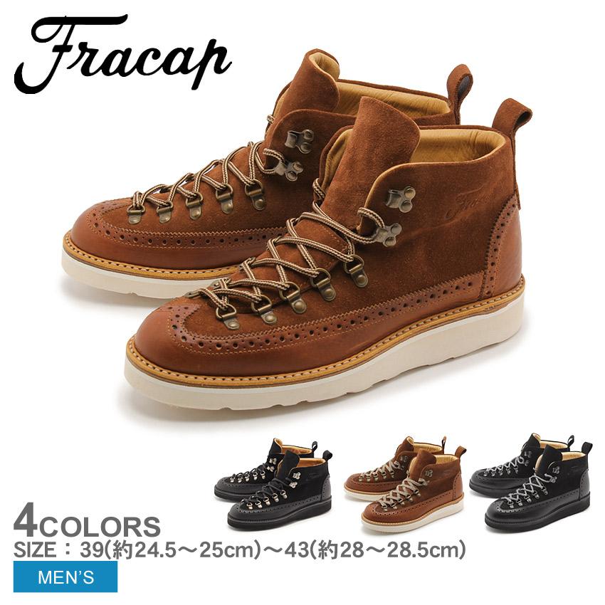 フラカップ マウンテンブーツ FRACAP コダ M130 CODA メンズ 本革 ブーツ イタリア 天然皮革 レザー ビブラムソール 0223FS